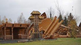 Kostel, který rozbořila vichřice, znovu nepostaví. Rozeberou ho na náhradní díly
