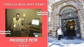 """Petr z Jindřišské už bydlí: """"Tohle je moje Nový Doma,"""" vzkazuje prodejce Nového Prostoru"""