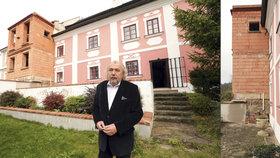 Zoufalý boj Kristiana Kodeta: Soused mu ničí majetek! A sebral mu i část pozemku