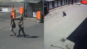 Krádež v holešovické tržnici: Mladíci z auta ukradli oblečení, počítače i doklady