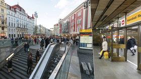 Uzavření výstupů z metra na náměstí Republiky se odsouvá: Vánoční horečka a trhy zvítězily