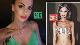 Anorexie je zpět?! Eliška Bučková znovu děsí trčícími kostmi