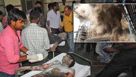 Exploze elektrárny si vyžádala 16 mrtvých. Zraněných je téměř stovka