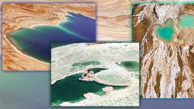 Mrtvé moře: Napodzemská nádhera, která pomalu mizí z map