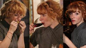 Vica Kerekes na premiéře filmu Milada: Utekla ze sálu, zapila to tequilou a vínem!