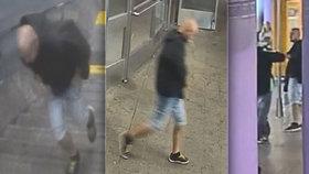 Agresor zbil v metru invalidu o holích. Kopal ho do zad a zasadil rány pěstí do hlavy