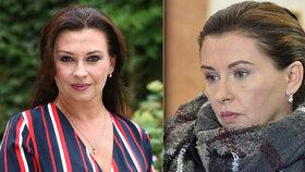 Dana Morávková (46) s minimem make-upu  Herečka ukázala dokonale mladistvou  tvář 5ac971e327e