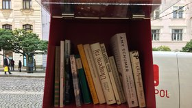 Počtení ve stínu stromu. V Hloubětíně přibyla venkovní knihovnička po vzoru amerických budek