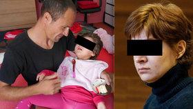 Karolínku (4) měla týrat její matka. Holčička oslepla a trpí, žena je na svobodě