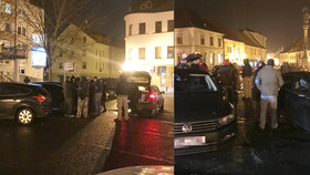 Detektivové GIBS: Prohledávali auta v centru Rokycan