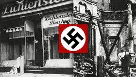Listopadová Křišťálová noc: Zabíjení, ničení, zatýkání a začátek Hitlerova konečného řešení