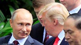 Teroristé chystali útok v Petrohradu, zmařila ho CIA. Putin děkoval Trumpovi