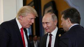 Trump volal Putinovi kvůli Kimovi. Rusko vyzývá u KLDR k opatrnosti