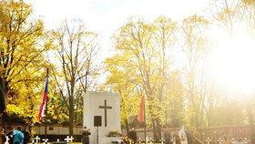 Vojáci vystřelili z pušek na hřbitově: V Praze uctili památku obětí 1. světové války