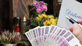 Vdovec z Benešovska odkázal Česku 1,5 milionu. Stát dědil i po muži z Pardubicka
