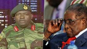 Vojáci obsadili televizi, zablokovali úřady a zatkli ministra. Zadržen je i prezident Mugabe