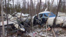 V Rusku se zřítil český letoun: Zemřelo 6 lidí, přežila 3letá holčička