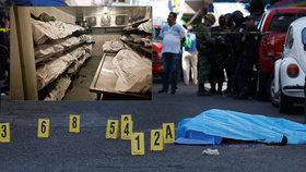 V Mexiku se letos stal rekordní počet vražd: 63 mrtvých denně!