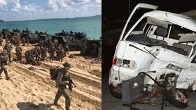 """Američtí vojáci musí být v Japonsku na """"suchu"""": Po tragédii jim vláda zakázala alkohol"""