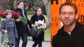 Pohřeb Jaroslava Šmída (†47): Davy lidí, desítky herců a salvy smíchu nad rakví