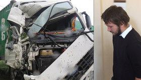 Honzu, Martina a Patrika (†19) zabil šofér náklaďáku (21): Hrál si s mobilem, tři roky vězení mu přijdou příliš