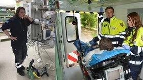Lékařka z emotivní fotografie: I přes její pomoc pacient zemřel