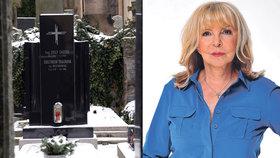 Přiznání Hany Zagorové: Koupila hrob na Vyšehradě!