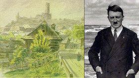 Nizozemský ústav dostal Hitlerův obraz  Majitelka ho doma odmítla e43cade38d