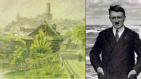 Nizozemský ústav dostal Hitlerův obraz  Majitelka ho doma odmítla 5fda1c48b0