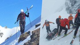Aspoň jsi odešel při tom, co jsi miloval: Čech, který zemřel v Tatrách, byl zkušený skialpinista