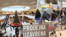 Na Silvestra nejdéle nakoupíte v Albertu. Většina obchodů zavře už v 17 hodin