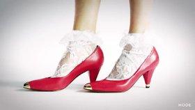 100 let dámských bot: Překvapí vás, jak vypadaly  boty na podpatku ve dvacátých letech!