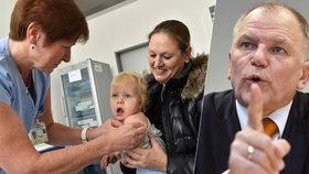 Eurokomisař vmetl matkám, co odmítají očkovat děti: Podívejte se na hřbitov