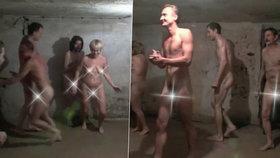 Skandál v koncentračním táboře Stutthof: Naháči hráli honěnou v plynové komoře