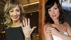 Šinkorová necelé dva roky po svatbě: Ztratila snubní prsten