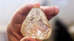 V New Yorku se vydražil obří diamant: Za 140 milionů korun!