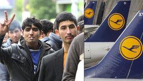 Němečtí piloti se odmítají podílet na deportacích uprchlíků. 222 letů nevzlétlo