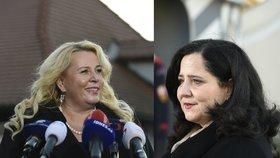 Zeman v Lánech přijal dvě adeptky do Babišovy vlády: Němcovou a Dostálovou