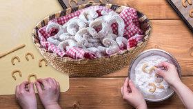 Vanilkové rohlíčky: Příprava vánoční klasiky krok za krokem