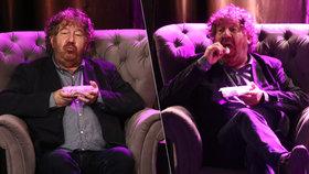 """Král pohádek Troška """"kouzlil"""" s cukrovím: V mžiku vyluxoval celý talíř!"""