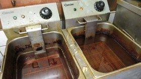 Přepálený olej a špinavé fritézy: Pochybí každá šestá restaurace, zjistila kontrola