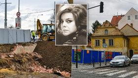Herečka Slávka Budínová (†78) by měla radost: Konec války o její dům!