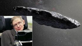 Kolem Země proletěl asteroid: Možná jde o mimozemskou sondu