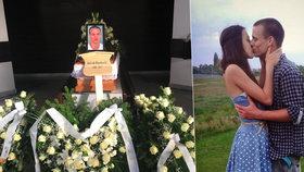Pohřeb Davida (†29), kterého zastřelil myslivec: Obětoval život pro přítelkyni
