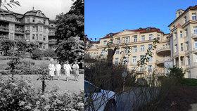 Porodnice v Podolí stojí od roku 1914: Po roce a půl skončily opravy, mluvili do nich i památkáři