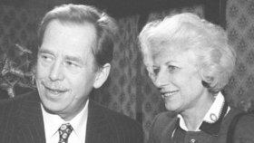 Olga Havlová: Proč nechtěla, aby se její muž stal prezidentem?
