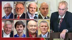 Zeman válcuje rivaly, potvrdil průzkum. Drahoš i Horáček ztrácí voliče