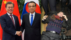 Reportéra brutálně zkopali. Na konferenci v Pekingu čekal na prezidenta
