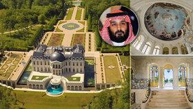 Freska jako ze Sixtinské kaple, vlastní kino i divadlo: Saúdský princ koupil nejdražší sídlo světa! Zámek po Ludvíku XIV. pořídil za 6,5 miliardy