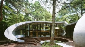 Neskutečný prázdninový dům: Vypadá jako mušle, která levituje nad zemí